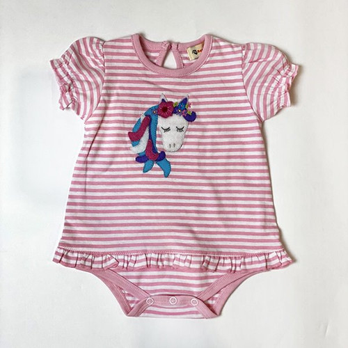 Infant Girls Pony Onesie