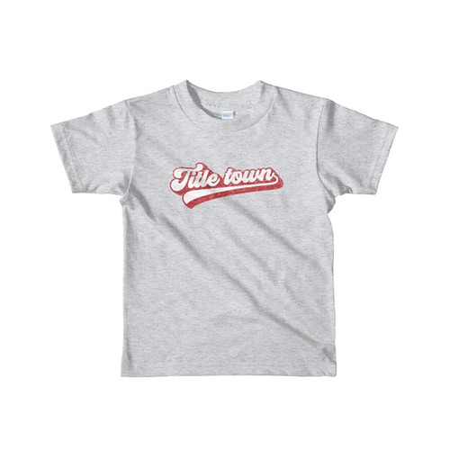 Boys' Toddler The Title Town Short Sleeve Tee