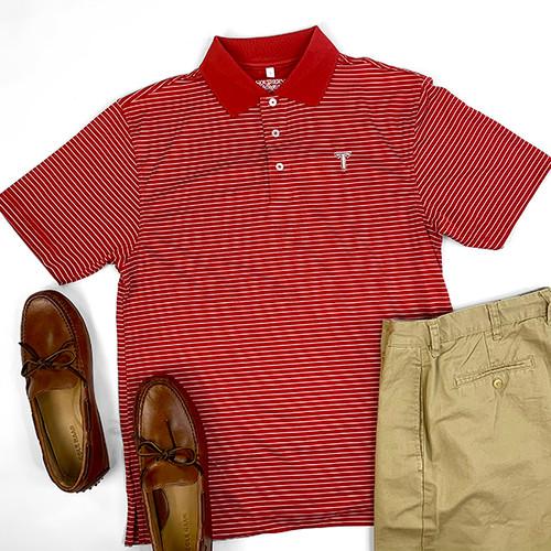 Men's Troy University Southern Single Stripe Polo