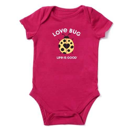 Infant Girl's Lady Love Bug Bodysuit