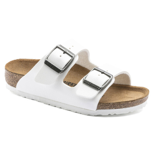 Girls' Birkenstock Arizona Sandal -White
