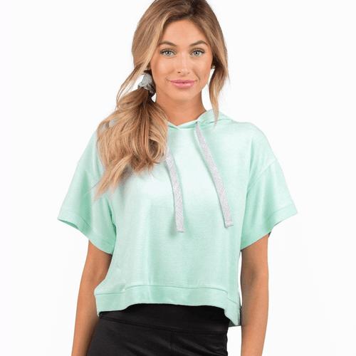 Women's Southern Shirt Co. Sporty Spice Sweatshirt Blue Tint