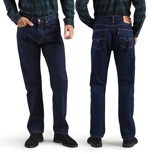 Men's 505 Regular Fit Jean - Rinse
