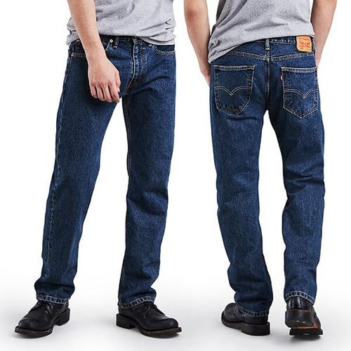 Men's Levi's 505 Regular Fit Jean - Dark Stone Wash