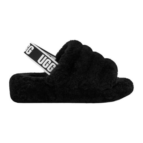 Women's UGG™ Fluff Yeah Slide Black Slipper