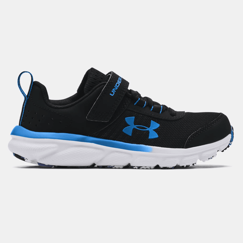 Boys' Under Armour Assert 8 Athletic Shoes Side