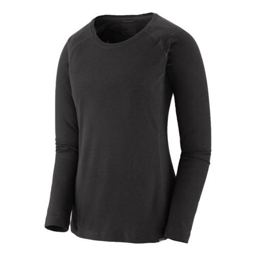 Men's Patagonia Capilene Midweight Crew  Neck Black Shirt