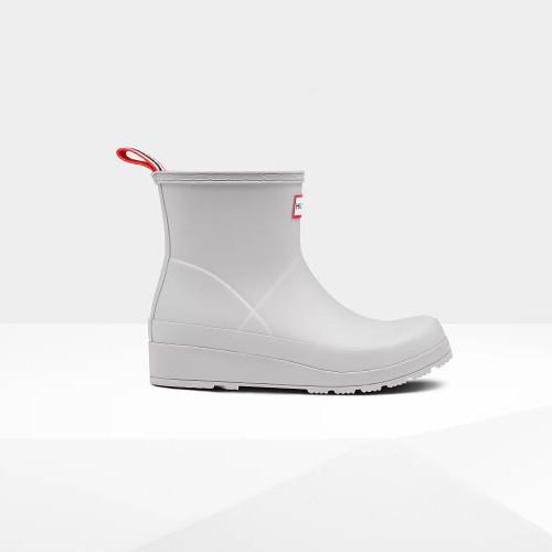 Hunter Original Short Play Rain Boot in Zinc Grey