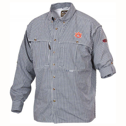 Men's Drake Auburn Plaid Wingshooter