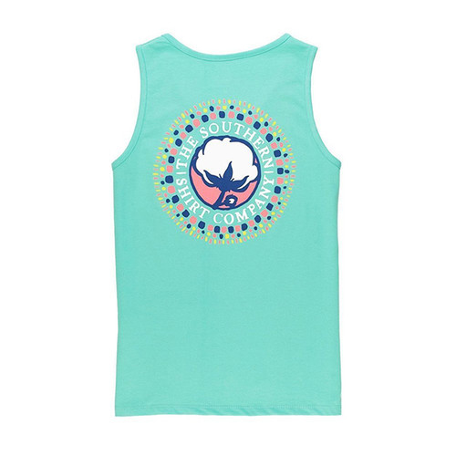 Girls' Watercolor Logo Tank