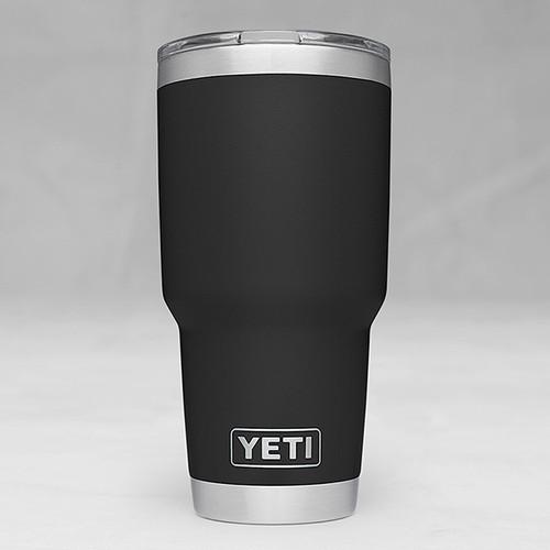 Yeti Rambler 30 Tumbler with Magslider Lid -Black