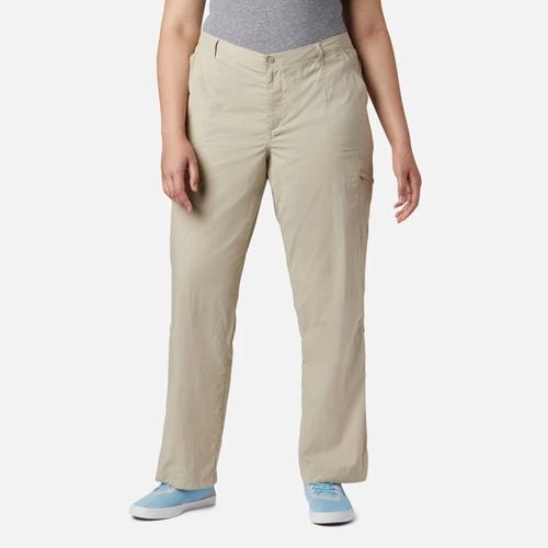 Women's Columbia PFG Aruba Roll Up Pant-Plus Size Front