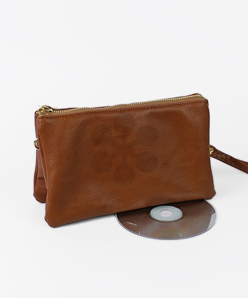 Faux Leather 3 Crossbody