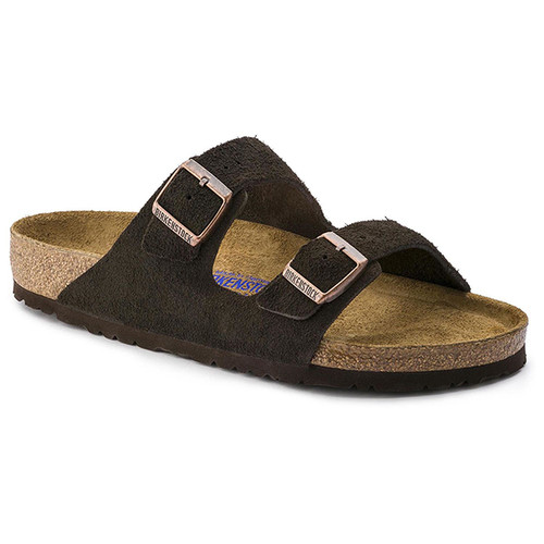 Men's Birkenstock Arizona Soft Footbed Sandal -Mocha