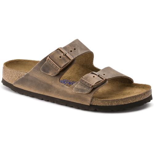 Women's Birkenstock Arizona Soft Footbed Sandal Tobacco