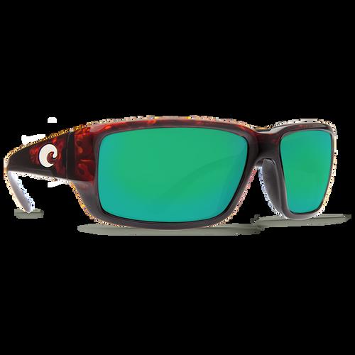 Fantail 580P Green Mirror (Frame: Tortoise)