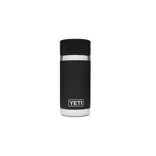 Yeti Rambler 12 oz Bottle with Hotshot Cap -Black
