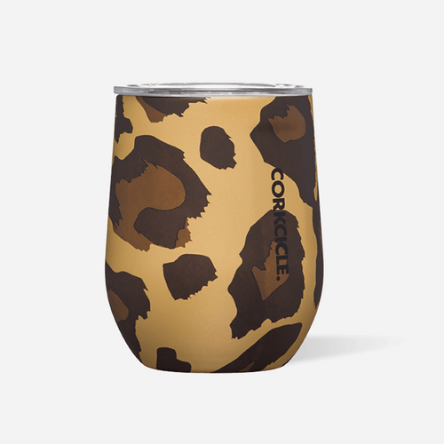 Luxe Leopard Stemless Tumbler