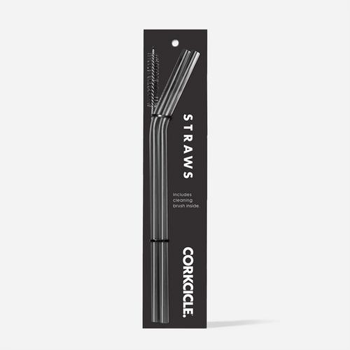 Gunmetal Straws