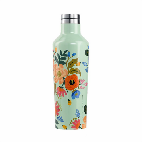 Mint Floral Canteen