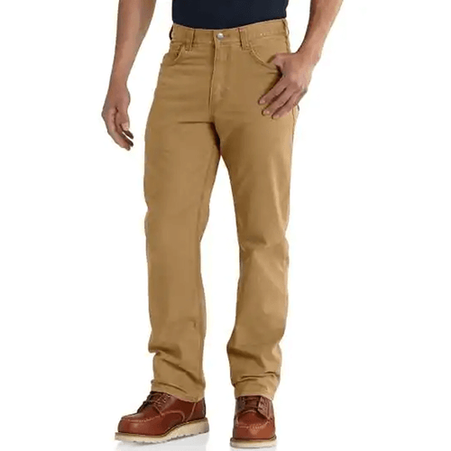 Men's Carhartt Rugged Flex Rigby 5 Pocket Work Pant Hickory