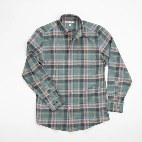 Boy's Southern Point Balsam Hadley Brushed Button Down Front