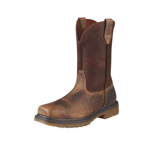 Men's Ariat Rambler Work Pull-On Boot Earth Brown