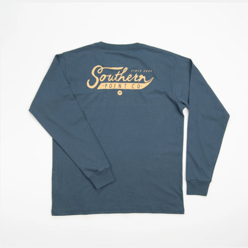 Youth Southern Point Classic Script T-Shirt Back