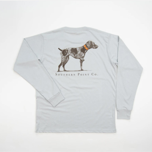 Youth Southern Point Greyton Detail T-Shirt Back Highrise