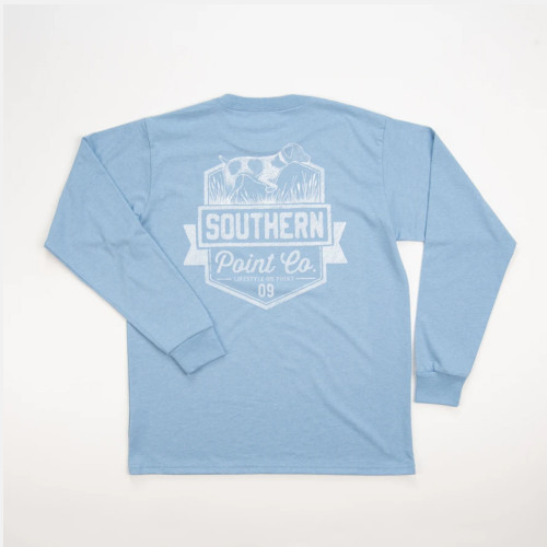 Youth Southern Point Pencil Shield T-Shirt  Back