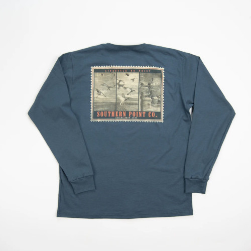 Youth Southern Point Duck Stamp T-Shirt Back