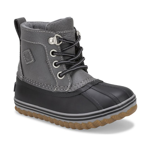 Sperry Little Kid's Bowline Boot - Grey Black