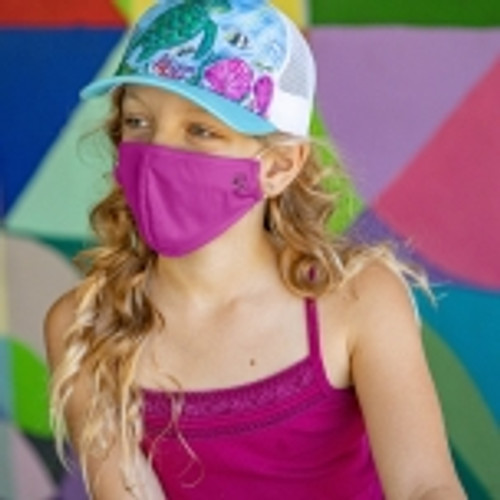 Kids' Sunday Afternoon UVShield Cool Face Mask Lifestyle Girl