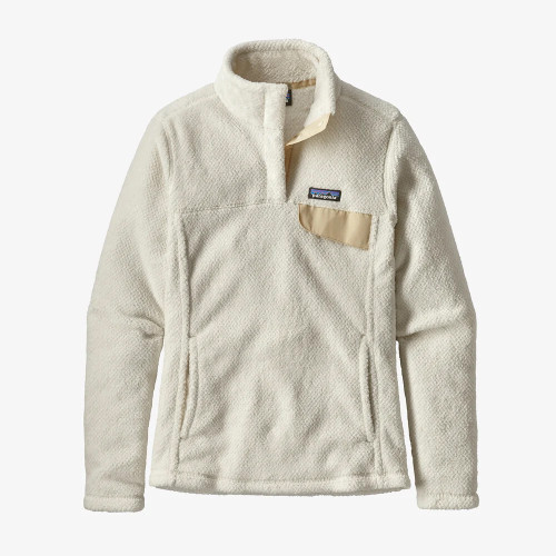 Women's Patagonia White Re-Tool Snap-T Pullover