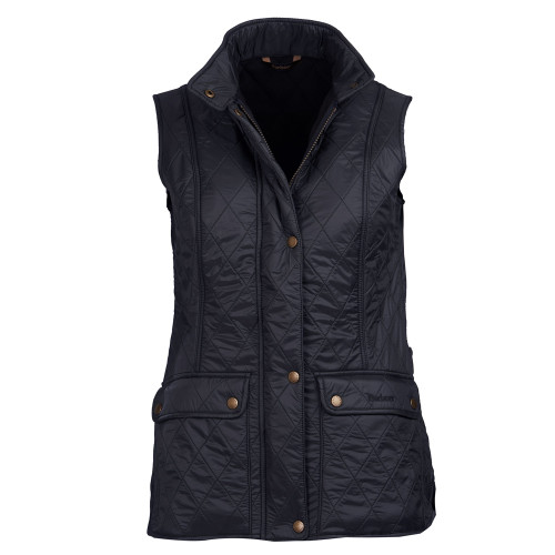 Women's Barbour Black Wray Gilet Quilted Vest