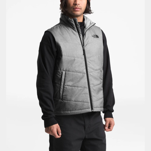 Men's The North Face Junction Insulated Vest Medium Grey Heather Front