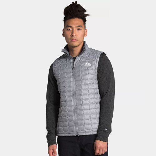 Men's The North Face ThermoBall Eco Vest Mid Gray Matte