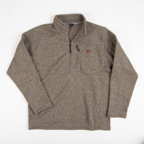 Men's Tigerwear Auburn Collegiate Everyday Fleece Pullover Tan