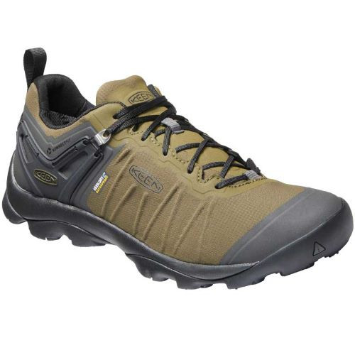 Men's Keen Dark Olive Raven Venture Waterproof Hiking Shoe