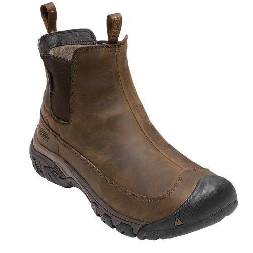 Men's Keen Dark Earth Mulch Anchorage III Waterproof Boot