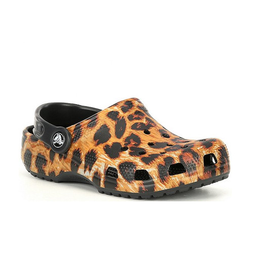 Girls' Crocs Leopard Classic Out of This World Clog