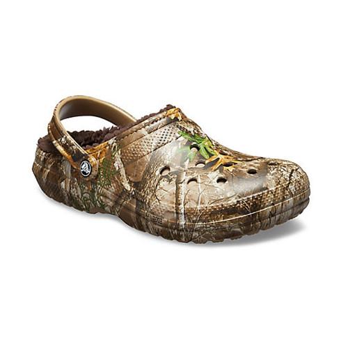 Men's Crocs Classic Realtree Lined Clog