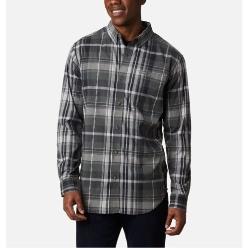 Men's Columbia Rapid Rivers II Button Down -Tall GrillFront