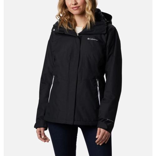 Women's Columbia Bugaboo™ II Interchange Jacket 010Black Front