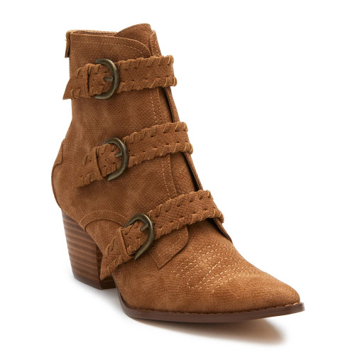 Women's Matisse Charmer Ankle Boot Tan Front