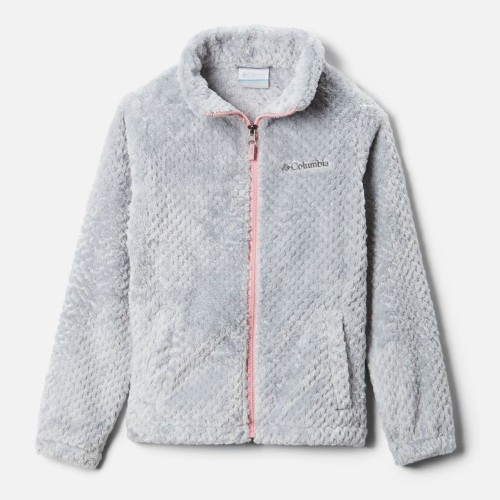 Girls' Columbia Fire Side Sherpa Jacket Columbia Grey