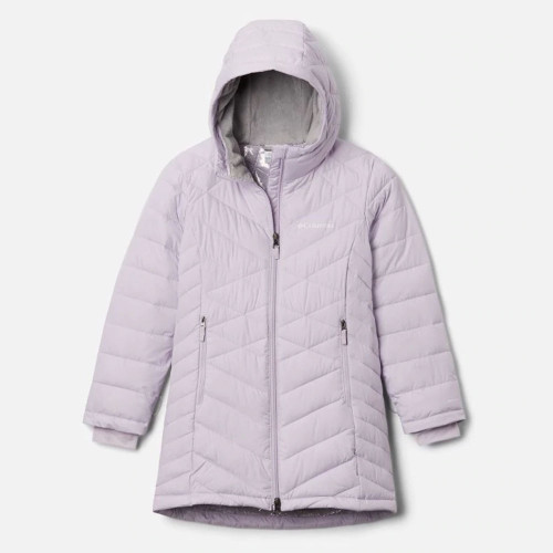 Girls' Columbia Heavenly Long Jacket Pale Lilac