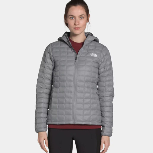 Women's The North Face TermoBall Eco Hoodie Jacket Mid Grey Matte