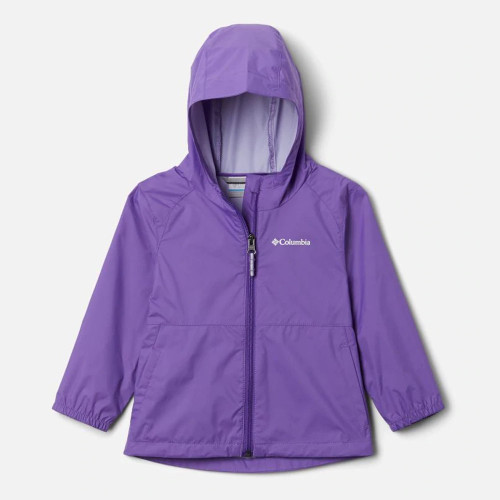 Toddler Girls' Columbia Switchback™ II Rain Jacket 576Grape Gum Front