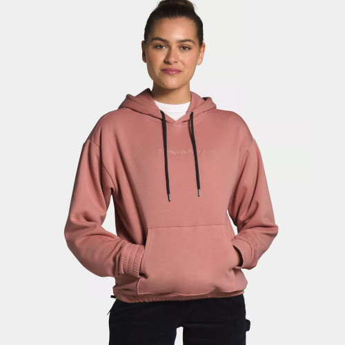 Women's The North Face Rogue Pullover Hoodie Pink Clay
